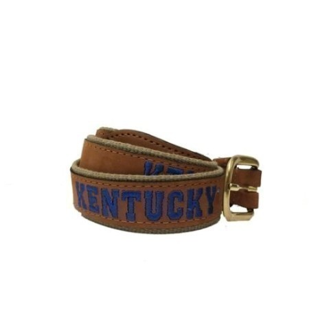 KENTUCKY EMBROIDERED BELT Thumbnail