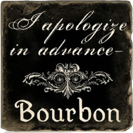 BOURBON APOLOGIZE MARBLE COASTER Thumbnail