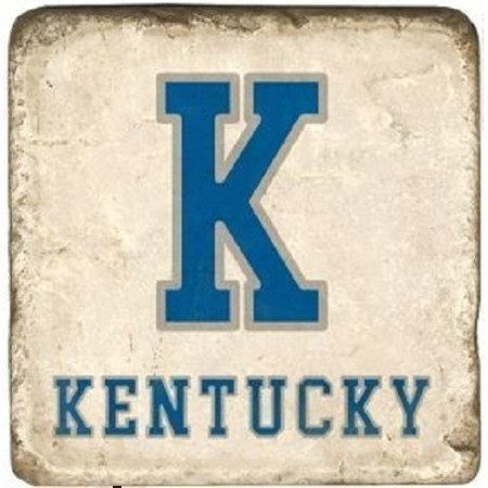KENTUCKY BLUE K MARBLE COASTER Thumbnail