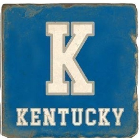 KENTUCKY NATURAL K TEXT MARBLE COASTER Thumbnail