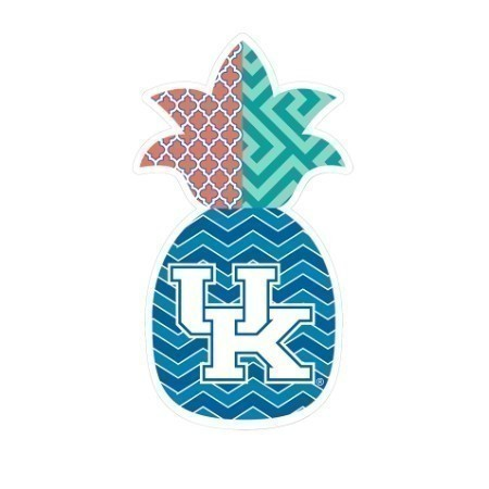 KENTUCKY PINEAPPLE DECAL 3.5