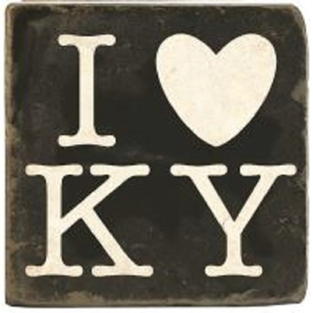 KENTUCKY I LOVE KY MARBLE COASTER Thumbnail