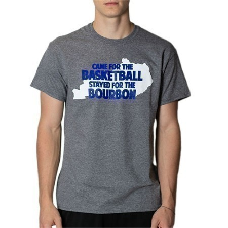 MENS KENTUCKY CAME FOR THE BASKETBALL TEE Thumbnail