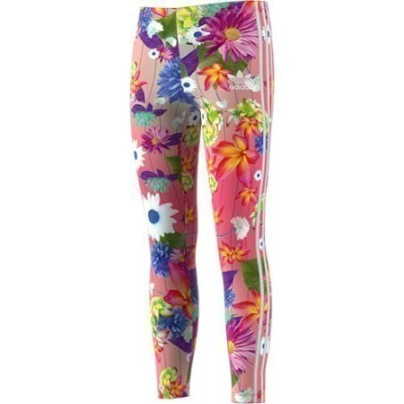 YOUTH ADIDAS GIRLS GRAPHIC AOP FLORAL LEGGING Thumbnail