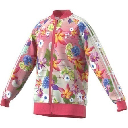 YOUTH ADIDAS GIRLS AOP FLORAL SST JACKET Thumbnail
