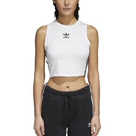 LADIES ADIDAS CROP TANK Thumbnail