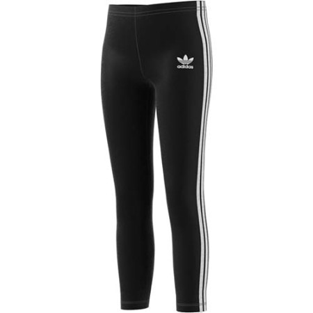 YOUTH ADIDAS GIRLS 3STIPE SLIGHT CROP LEGGING Thumbnail