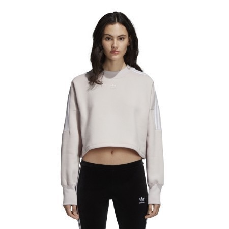 LADIES ADIDAS CROP SWEATSHIRT Thumbnail