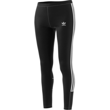LADIES ADIDAS 3 STRIPE VELOUR TIGHT Thumbnail