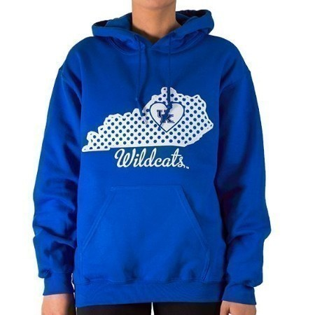 LADIES KENTUCKY DOT STATE HOODIE Thumbnail
