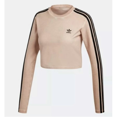 LADIES ADIDAS DUST PEARL  LONG SLEEVE TOP  Thumbnail
