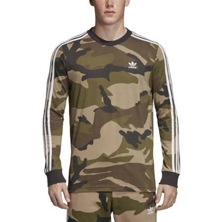 MENS ADIDAS CAMO LONG SLEEVE TEE Thumbnail