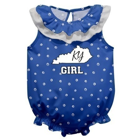 YOUTH KENTUCKY INFANT SWIRLS ONESIE Thumbnail