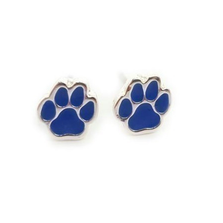 LADIES KENTUCKY PAW STUD EARRINGS Thumbnail