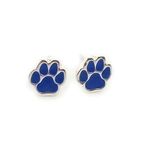 KENTUCKY PAW POST EARRINGS Thumbnail