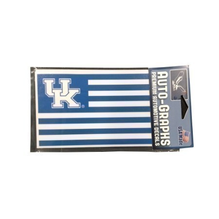 KENTUCKY FLAG DECAL 3.5