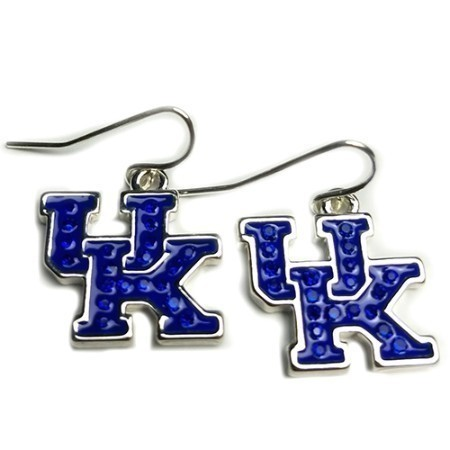 KENTUCKY UK BLING DANGLE EARRINGS Thumbnail