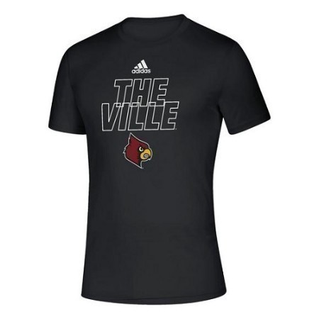MENS LOUISVILLE ADIDAS LOCKER MOTTO TEE Thumbnail