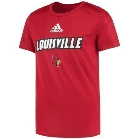 MENS LOUISVILLE ADIDAS LOCKER ROOM TEE Thumbnail
