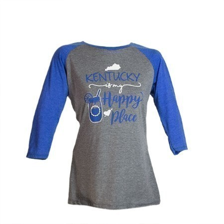 LADIES KENTUCKY HAPPY PLACE TEE Thumbnail