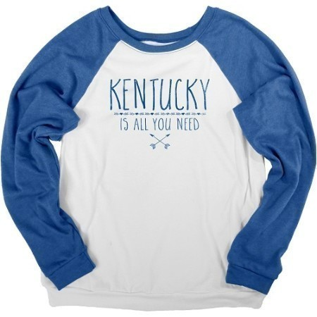 LADIES KENTUCKY BELLA FLEECE CREW Thumbnail