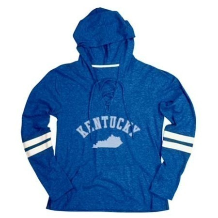 LADIES KENTUCKY LACEY  HOODIE TOP Thumbnail