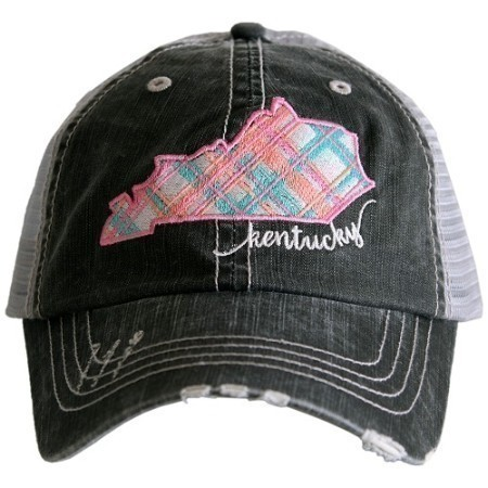 KENTUCKY PLAID STATE HAT Thumbnail