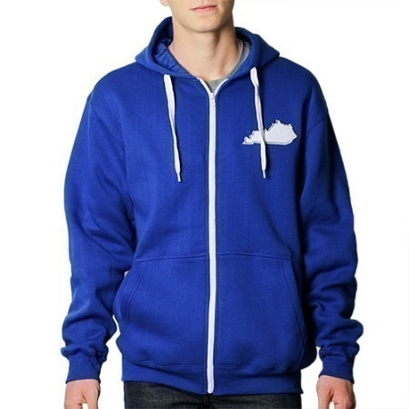 MENS KENTUCKY FLEECE FULL ZIP HOODIE Thumbnail