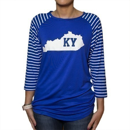 LADIES KENTUCKY KY STATE TOP Thumbnail