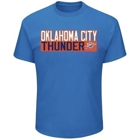 MENS NBA THUNDER GEORGE TEE Thumbnail
