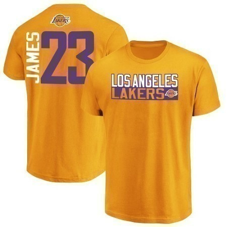MENS NBA LAKERS LEBRON TEE Thumbnail