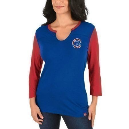 CUBS ABOVE AVERAGE LADIES 3/4 TOP Thumbnail