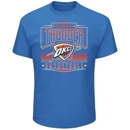 MENS OKC THUNDER EFFORTLESS ACTION TEE Thumbnail