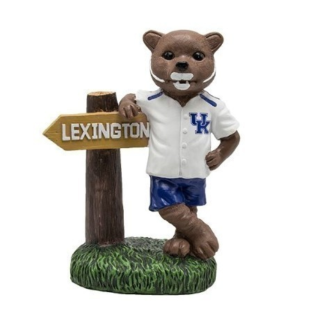 KENTUCKY MASCOT WITH SIGN 12