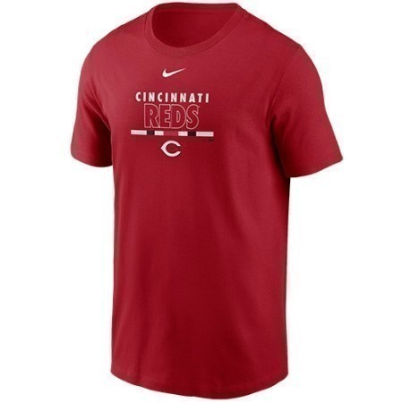 MENS REDS NIKE COLOR PRACTICE TEE Thumbnail
