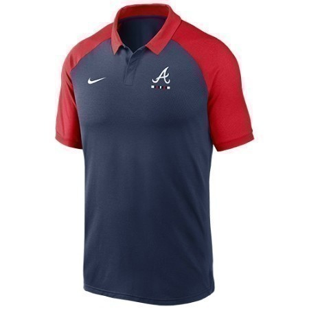 MENS BRAVES NIKE LEGACY POLO Thumbnail