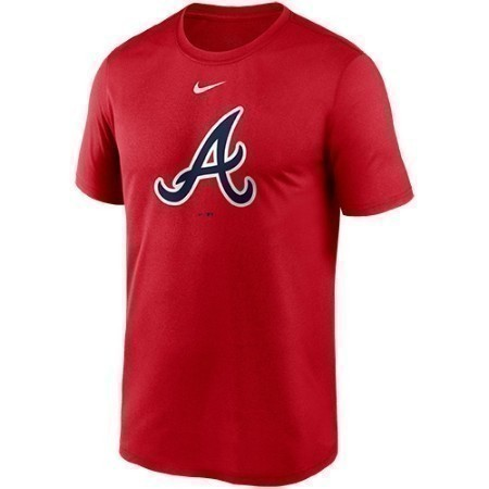 MENS BRAVES NIKE LARGE LOGO TEE  Thumbnail