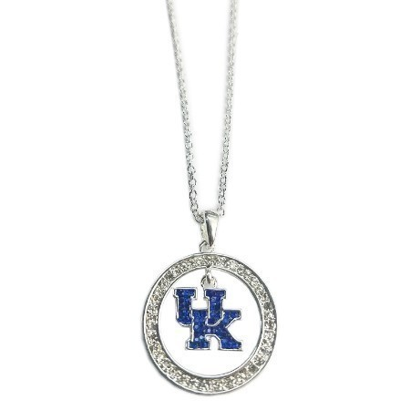KENTUCKY UK CIRC BLING NECKLAC Thumbnail