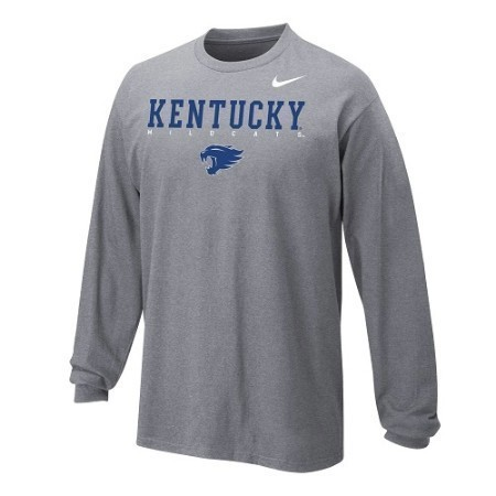 YOUTH KENTUCKY NIKE CTN LS FACILITY TEE Thumbnail