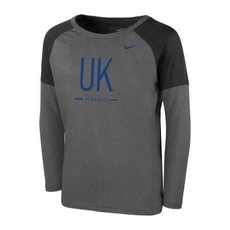 YOUTH KENTUCKY NIKE TAILGATE LS TOP Thumbnail