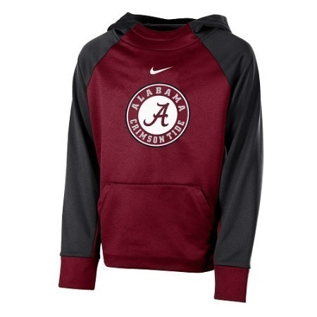 YOUTH ALABAMA NIKE COLOR BLOCK HOODY Thumbnail