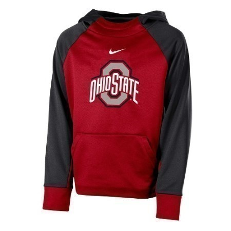 YOUTH OHIO ST NIKE COLOR BLOCK HOODY Thumbnail