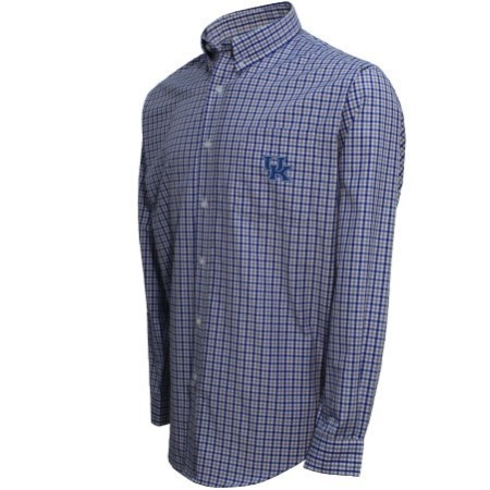 MENS KENTUCKY WOVEN BUTTON DOWN SHIRT Thumbnail