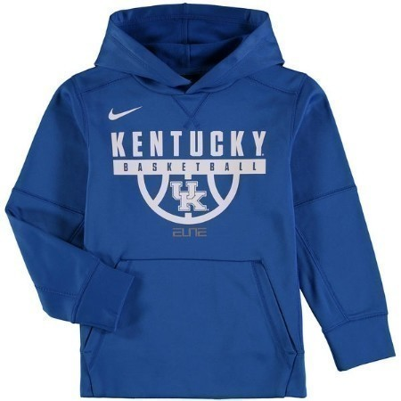 YOUTH KENTUCKY NIKE BBALL PRACTICE HOODIE Thumbnail