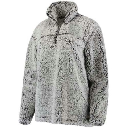 LADIES BOXERCRAFT 1/2  ZIP SHERPA PULLOVER Thumbnail
