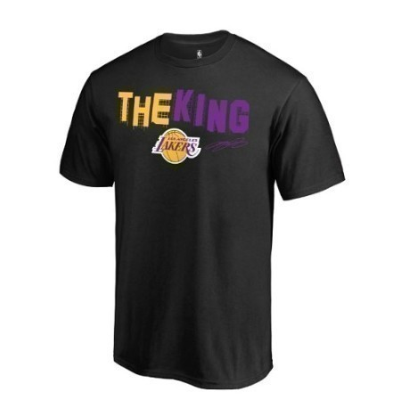 MENS NBA LAKERS LEBRON HOLLYWOOD TEE Thumbnail
