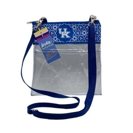 KENTUCKY RIBBON CROSSBODY CLEAR BAG Thumbnail