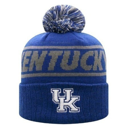 LADIES KENTUCKY RUTH POM KNIT CAP Thumbnail