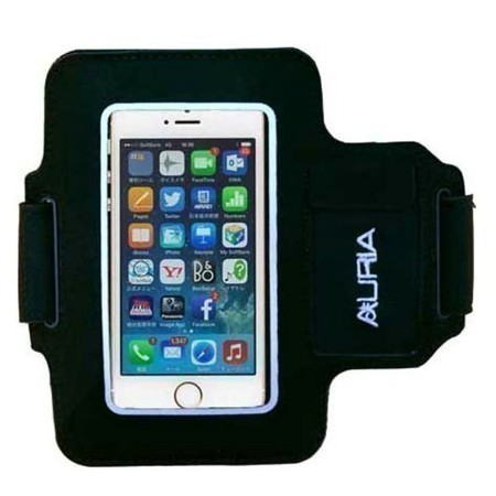 SMARTPHONE ARMBAND YELLOW TRIM Thumbnail