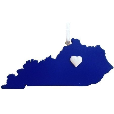 KENTUCKY LEX HEART ORNAMENT Thumbnail